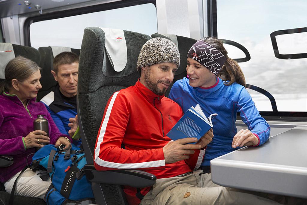 Mit der Bahn nach Tirol