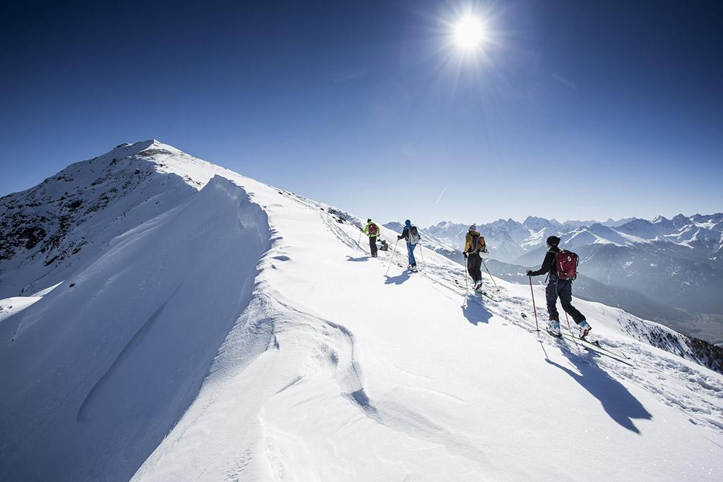 Skitour am Venet