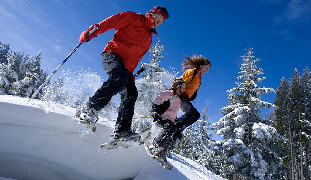 Schneeschuhwandern im Kaunertal