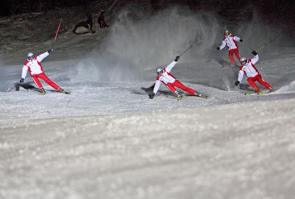 Nauders Ski Rock die Wadln