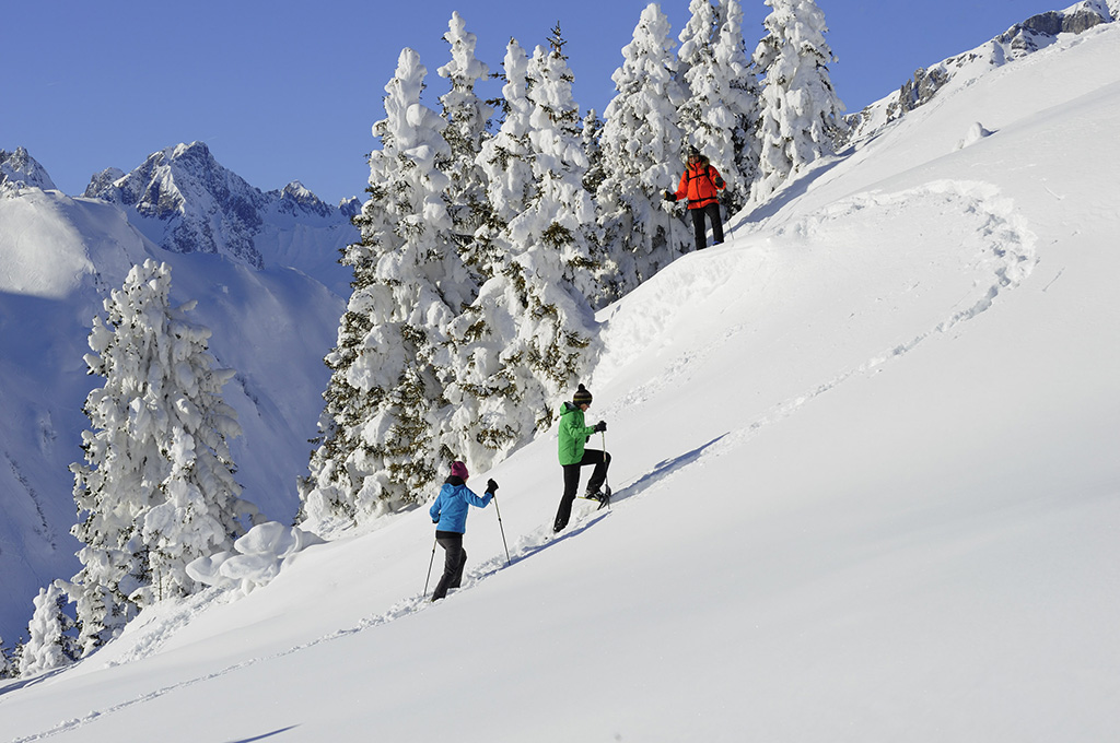 Schneeschuhwandern Tirol