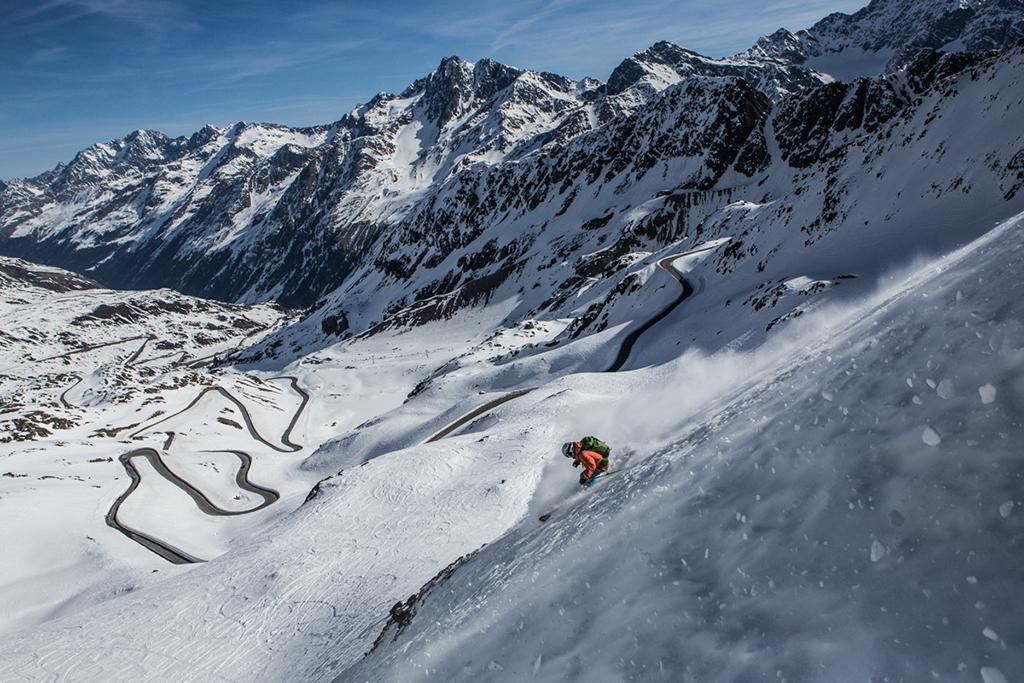 Ski im Kaunertal