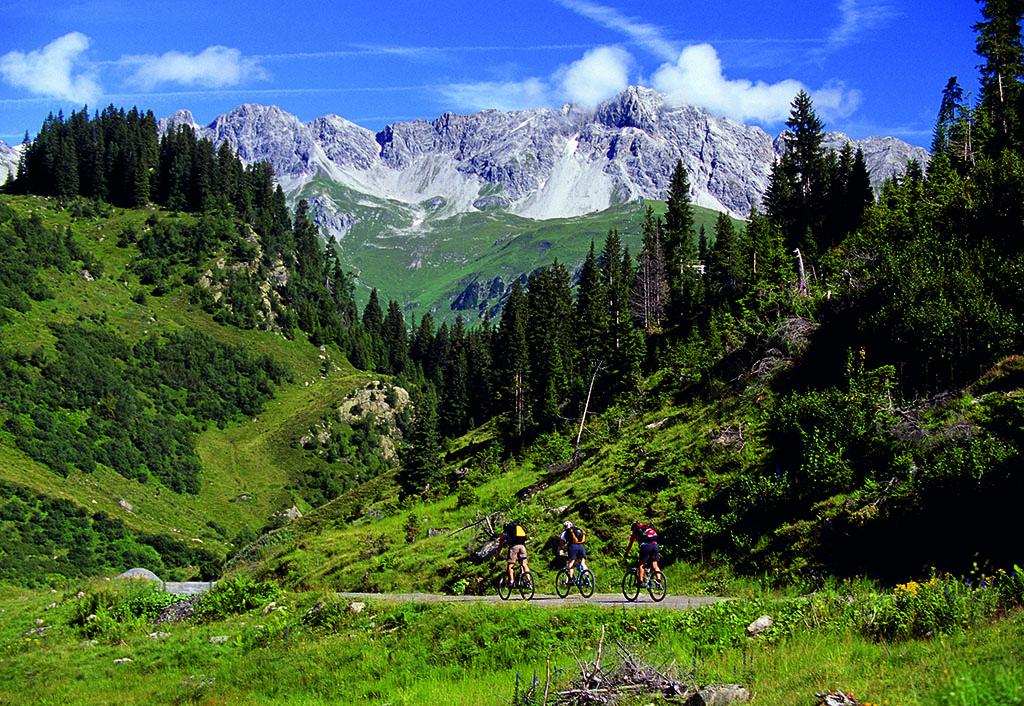 Verwall Mountainbiken