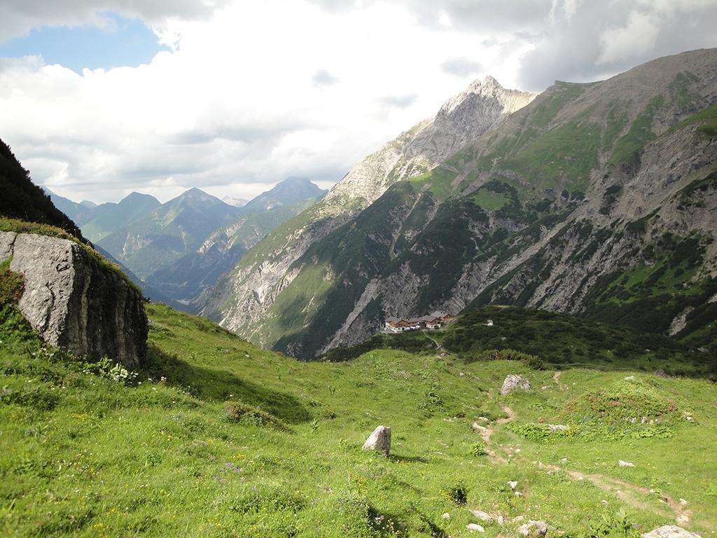 Die Hanauer Hütte bei Imst