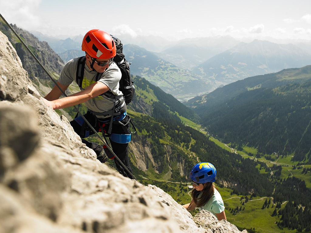 Klettersteig im Montafon