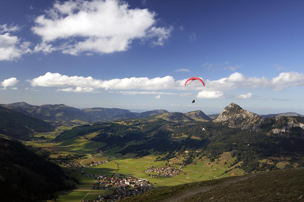 Gleitschirmfliegen Tirol