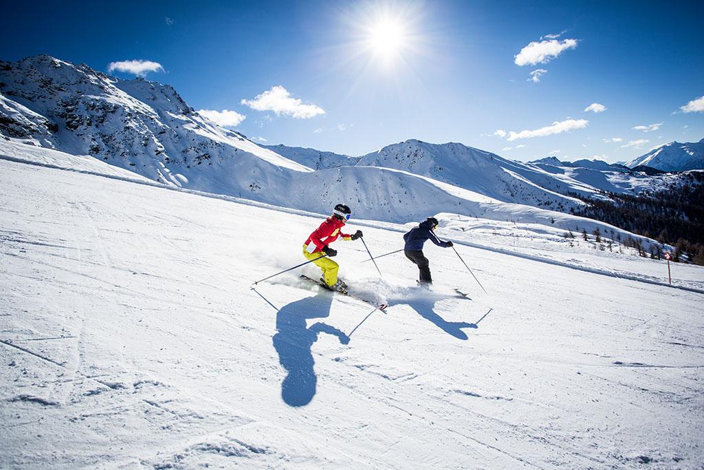 Kaunertal Gletscher Skifahren