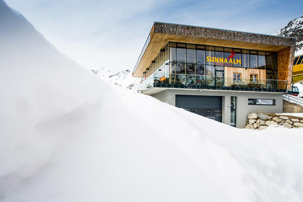 Bergstation Rifflseebahn
